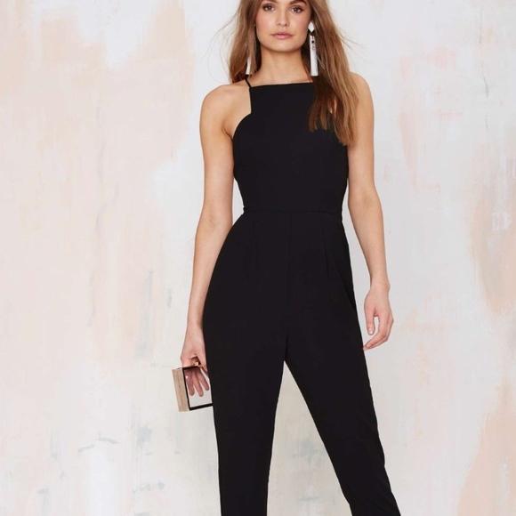 52f9be6352bd new Keepsake Restless Heart Jumpsuit Black